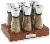 Cole & Mason 6-Jar Wooden Spice Rack