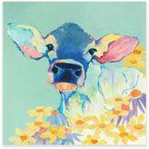 Cow Bessie Canvas Wall Art