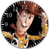 "Rusch Disney Toy Story Woody Wall Clock 10"" Will Be Nice Gift and Room Wall Decor W81"