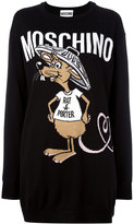 Moschino Rat-A-Porter jumper dress - women - Virgin Wool - XXS