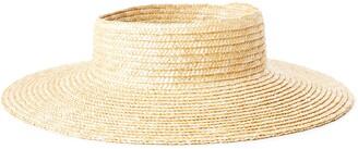 Brixton Joanna Straw Visor Hat