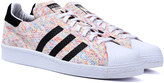 Adidas Originals Superstar 80's White Flecked Primeknit Trainers