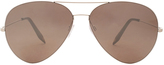 Victoria Beckham Exclusive Feather Aviator Sunglasses