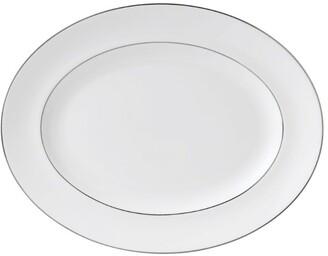 Wedgwood Signet Platinum Oval Dish (35Cm)