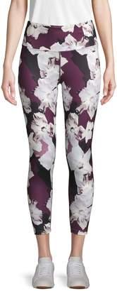Nanette Lepore Moody Floral Cropped Leggings