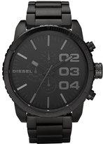 DIESEL ® 'Double Down' Chronograph Bracelet Watch, 51mm