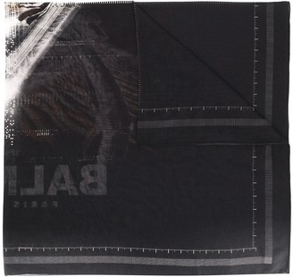 Balmain Printed Scarf