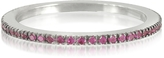 Forzieri Natural Pink Sapphire Eternity Band Ring