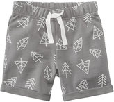 First Impressions Tree-Print Shorts, Baby Boys (0-24 months), Created for Macy's