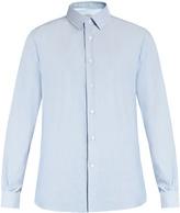 Valentino Double-cuff cotton oxford shirt