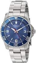 Victorinox 241709 Women's 'Maverick' Swiss Stainless Steel Automatic Watch,34mm