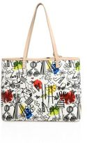 Alice + Olivia Stace Face Leather Tote