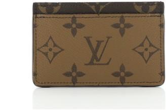 Louis Vuitton Card Holder Reverse Monogram Canvas