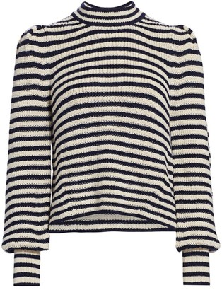 Eleven Six Mia Stripe Baby Alpaca Sweater
