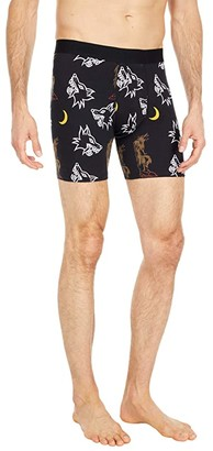 Stance Fourteen Boxer Brief (Black) Men's Underwear