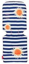 Maclaren Sunshine Stripe Universal Seat Liner in Blue/Orange