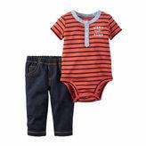 Carter's 2-pc. Stripe Bodysuit and Pants Set - Baby Boys newborn-24m