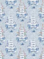 Royal Delft Tulips Gray Wallpaper By Nicolette Mayer
