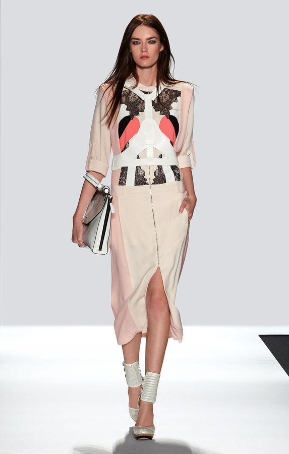 BCBGMAXAZRIA Runway Tobyn Dress