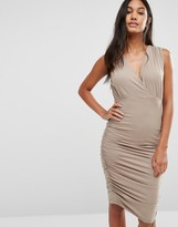 Supertrash Day Ruched Sleeveless Dress