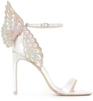 Sophia Webster Chiara embroidered heeled sandals