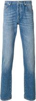 Brunello Cucinelli stonewashed slim-fit jeans