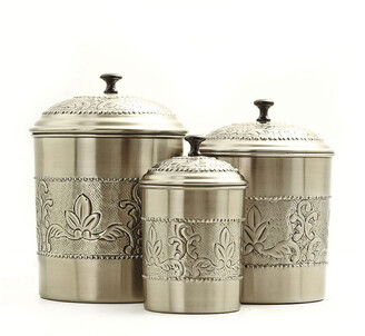 Old Dutch Victoria 3Pc Canister Set