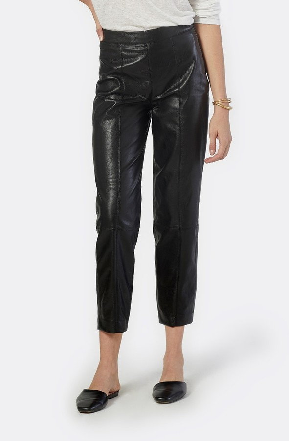Joie Bianca Vegan Leather Cropped Pant