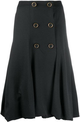 J.W.Anderson Double-Breasted Midi Skirt