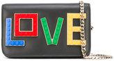 Les Petits Joueurs Love crossbody bag - women - Leather - One Size