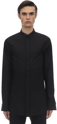 Balenciaga Long Fitted Stretch Poplin Shirt
