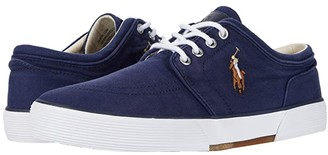 Polo Ralph Lauren Faxon Low (Navy Washed Canvas) Men's Shoes