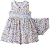 Bonnie Jean Baby Girl Floral Smocked Dress