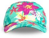 Circo Toddler Girls' Floral Print Baseball Hat Green