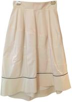 Saint Laurent Silk mid-length skirt
