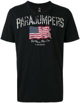Parajumpers flag print T-shirt - men - Cotton - S