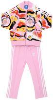 adidas Floral Cotton Sweatshirt & Sweatpants
