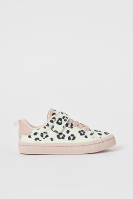 H&M Glittery Sneakers - Silver