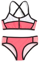 Seafolly Girl's Sapphire Coast Two-Piece Swimsuit