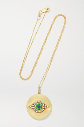 Ileana Makri Golden Dawn 18-karat Gold Multi-stone Necklace - one size