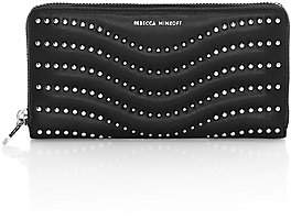 Rebecca Minkoff Women's Large Studded Leather Wallet