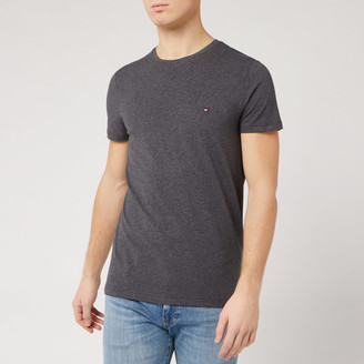 Tommy Hilfiger Men's Slim Fit T-Shirt - Charcoal Heather - S