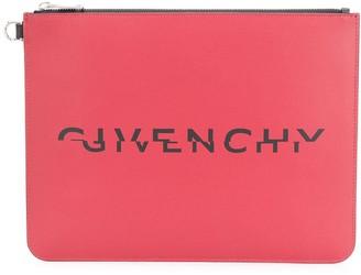 Givenchy Split Logo Pouch