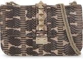 Valentino Lock stud leather shoulder bag
