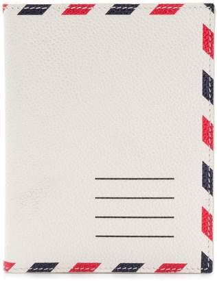 Thom Browne Airmail Print Passport Holder