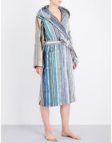 Missoni Home Striped cotton-towelling robe