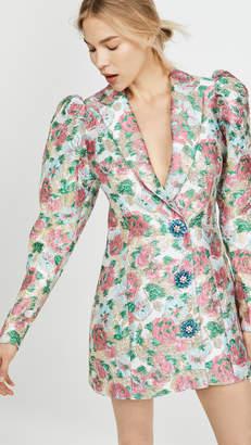 ROTATE Carol Jacquard Dress