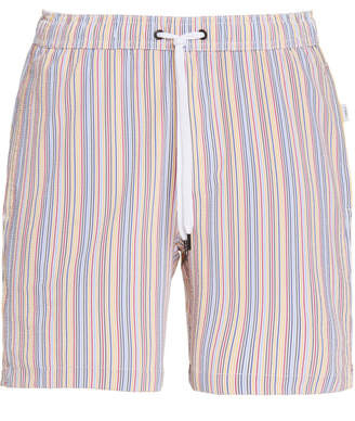 Onia Charles 7 Striped Swim Shorts