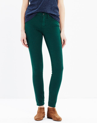 "Madewell 8"" Skinny Sateen Jeans"