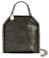 Stella McCartney ruthenium falabella shiny dotted chamois mini tote